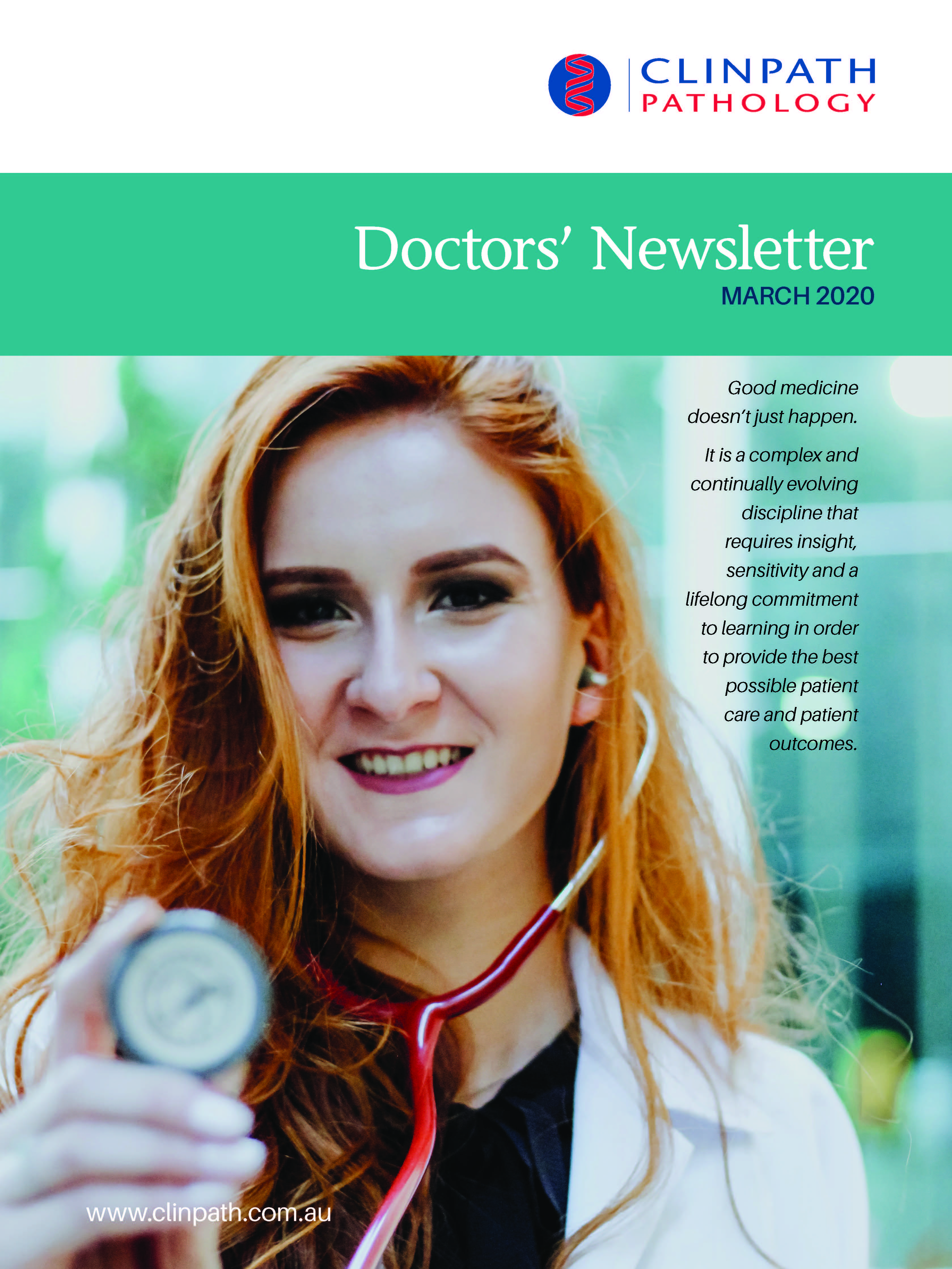 Doctorsnewsletter Issue5 Mar2020 Page 01