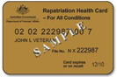 Veteran Affairs Card